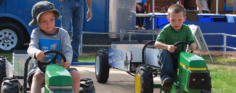 All Alaskan Kids Tractor Pull